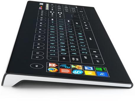 Optitact Side Keyboard with Display