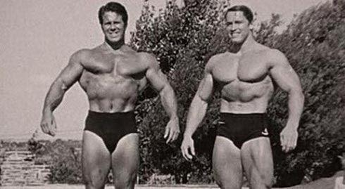 Park & Schwarzennegger - actors, 700lbs Deadlifters, and 5x5 advocates.