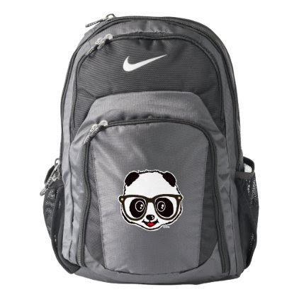 Cute Panda Nike Backpack