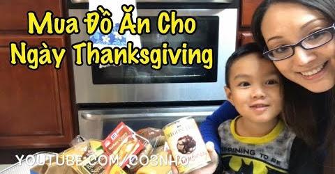 Mua Đồ Chuẩn Bị Cho Ngày Lễ Tạ Ơn Thanksgiving - Cuộc Sống Ở Mỹ - Co3nho 296