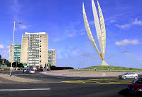 Trillian sculpture - no longer planned for Broadway roundabout