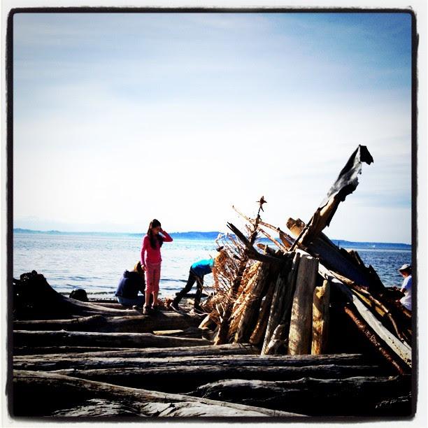 Lowman beach, Seattle