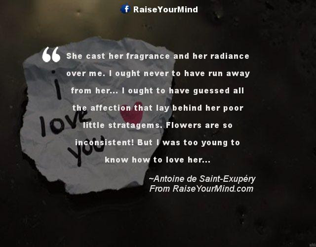 Love Quotes Sayings Verses She Cast Her Fragrance And Her