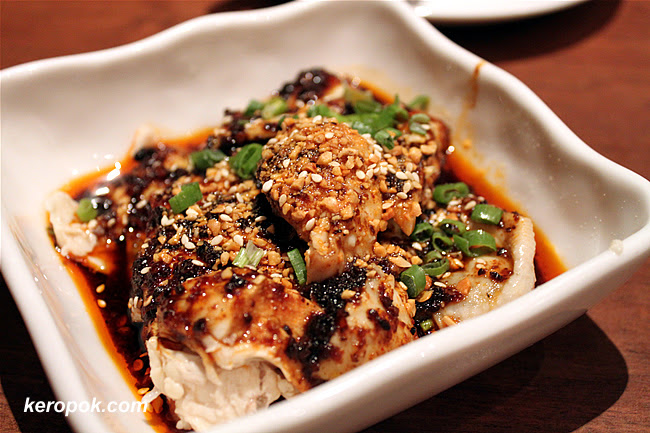 Cold Spicy Chicken Szechuan Style