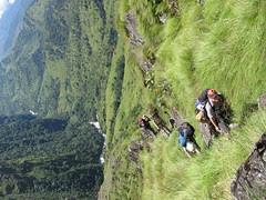 More climbing...