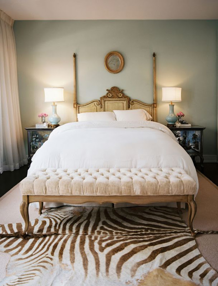 Love the symmetry in this dreamy bedroom- design addict mom