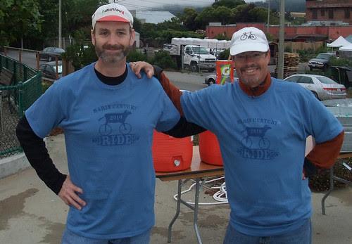 Dan and Curtis at Marin