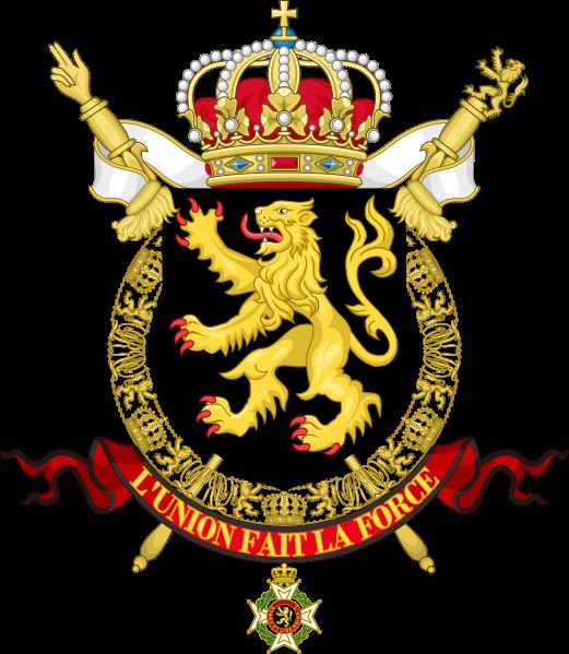 Archivo: escudo nacional de Belgium.svg