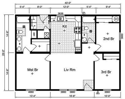 simple small house floor plans simple  story house