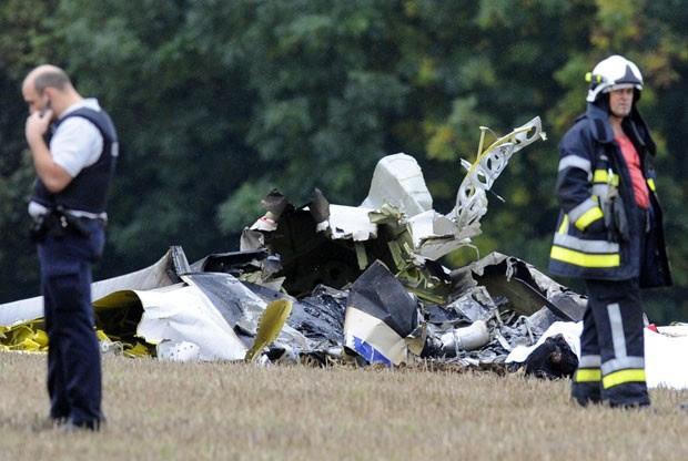 Acidente ocorreu na região de Namur, sul do país (Foto: John Thys/Belga/AFP)