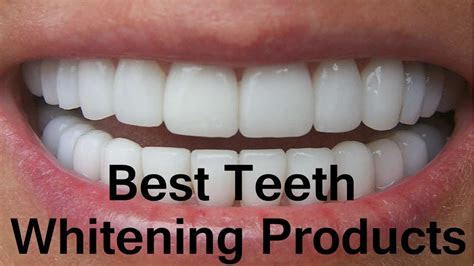 Best Teeth Whitening Products 2018   YouTube