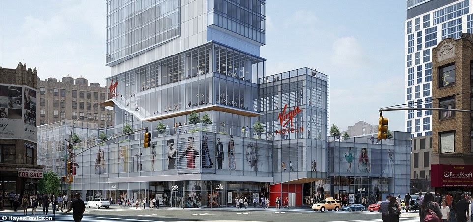 The property, at 203 N. Wabash in the Loop, is the first of three planned for the US. Two hotels are being developed in New York and Nashville