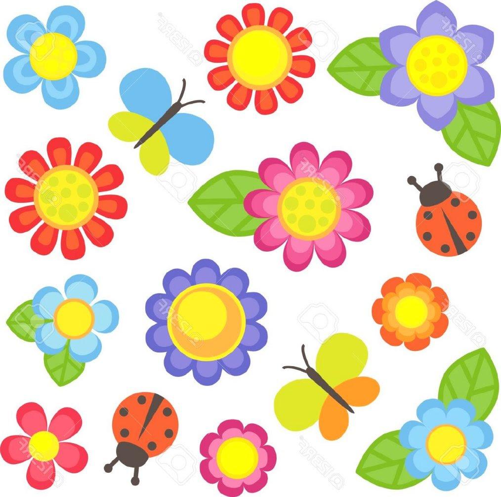 Gambar Bunga Kartun Clipart Best