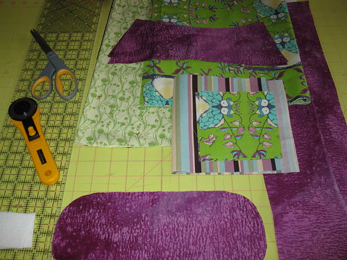 Step 2: Cut out the pieces (tote #1)