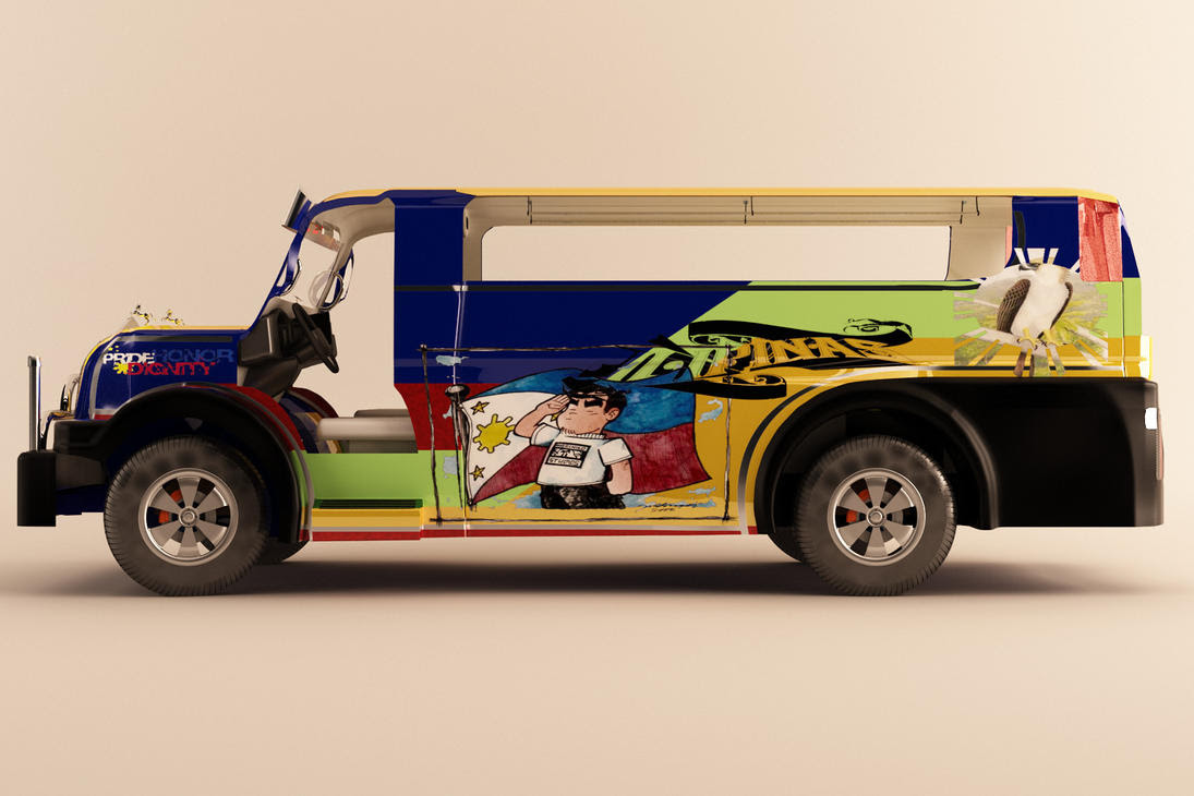 Philippine Jeepney Drawing Easy