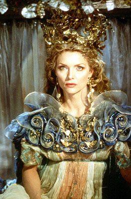 Michelle Pfeiffer as 'Titania, Queen of the Fairies' - 1999 - William Shakespeare's 'A Midsummer Night's Dream' - Costume Design by Gabriella Pescucci - Director:  Michael Hoffman - @~ Mlle