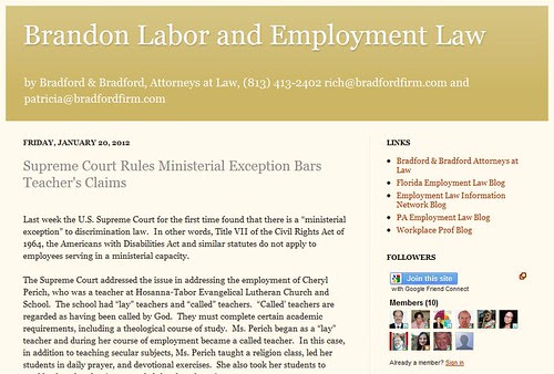Brandon Labor and Employment Law by totemtoeren