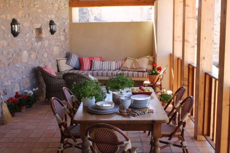 Terrasse gestalten - 10 Einrichtungsideen für Veranda ...
