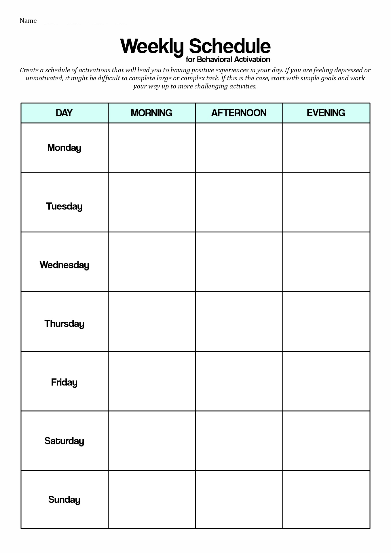 18 Best Images of Cognitive Behavioral Therapy Worksheets ...