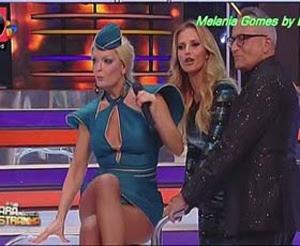 Melania Gomes sensual no programa A tua cara não me é estranha