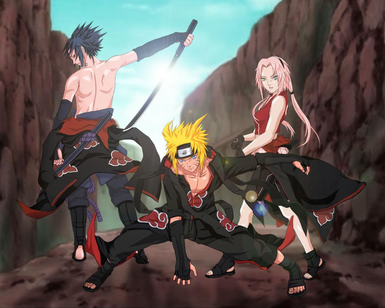 Naruto - Announcing Group Seven