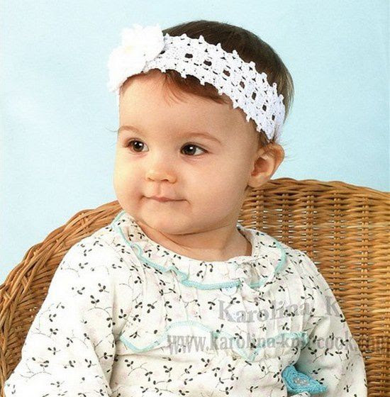 floral headband girl and her free pattern!