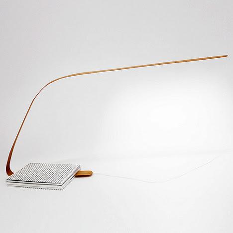 Lampara Bookmark - Léonard Kadid, decoracion, diseño, iluminacion