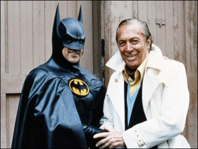 Bob Kane and Friend