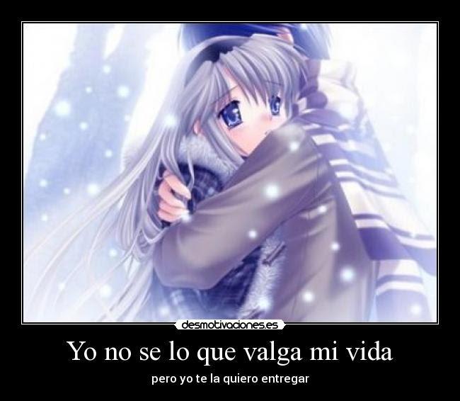 Imagenes De Animes Con Frases D Amor Imagui