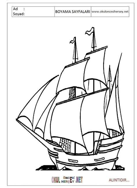 yelkenli gemi boyama bahattinteymuriom
