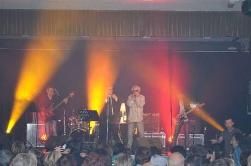Le groupe a véritablement fait voyager le public à la belle époque du rock'n'roll.