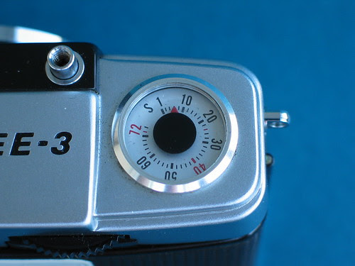 Olympus Pen EE3 frame counter