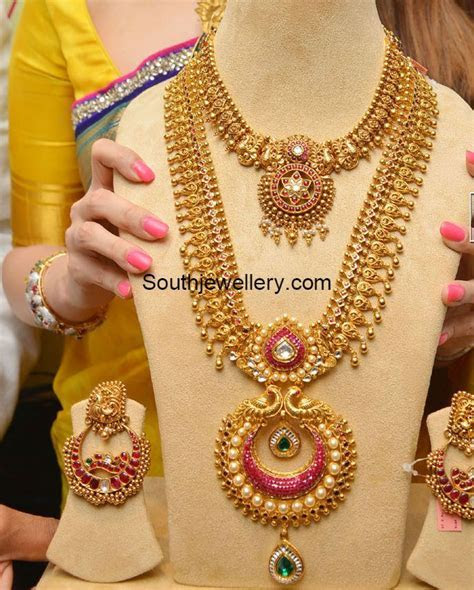 Antique Long Chain latest jewelry designs   Jewellery