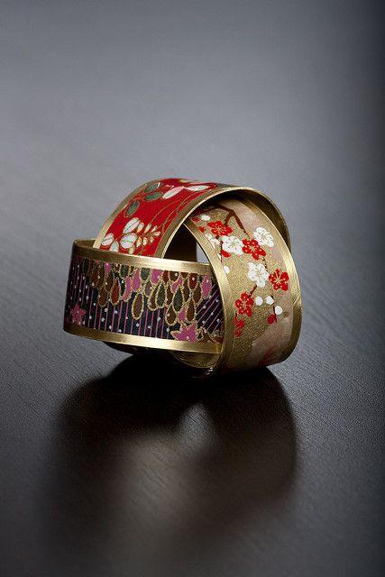 Japanese washi paper bracelets
