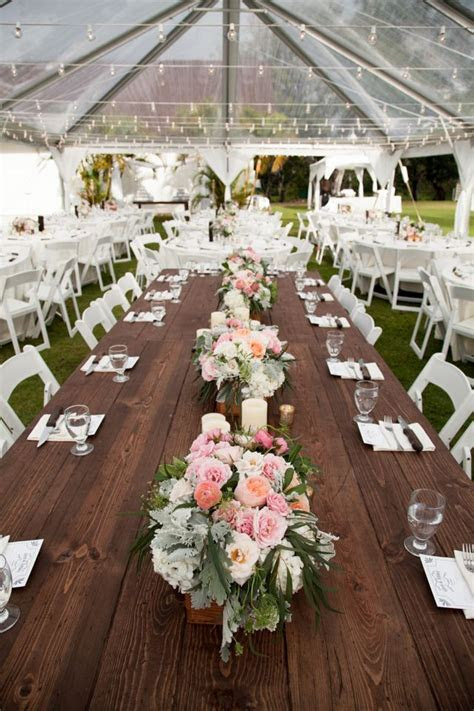 Dillingham ranch rustic wedding table decor by
