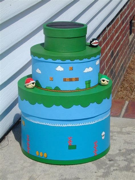 Mario Themed Wedding Card Box by jen4eternity on DeviantArt