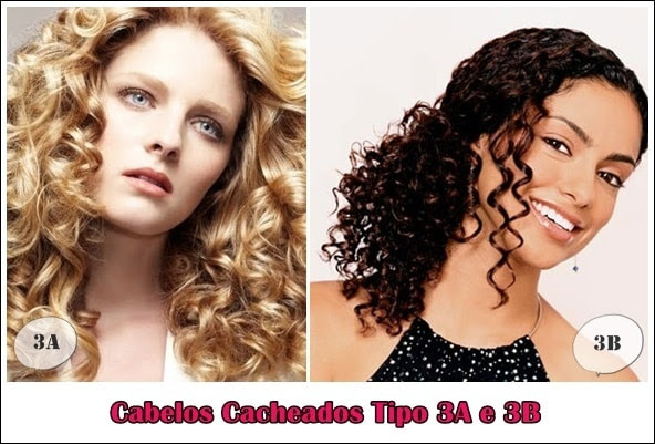 cabelos cacheados tipo 3a e 3b modelos Cabelos Cacheados (Tipo 3a e 3b) – Tratamentos, Dicas e Cuidados