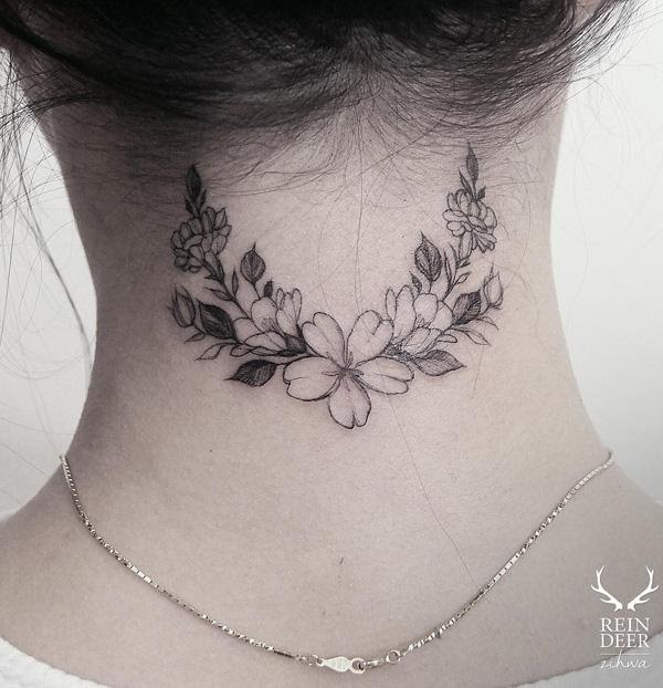 60 Awesome Neck Tattoos Art And Design
