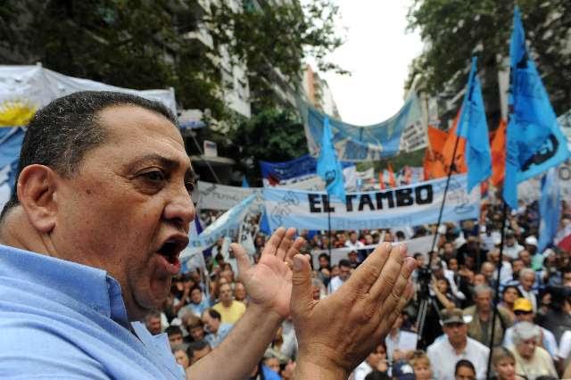 Jorge Lanata denunció que Luis D´Elía tiene una empresa que es proveedora del Estado.