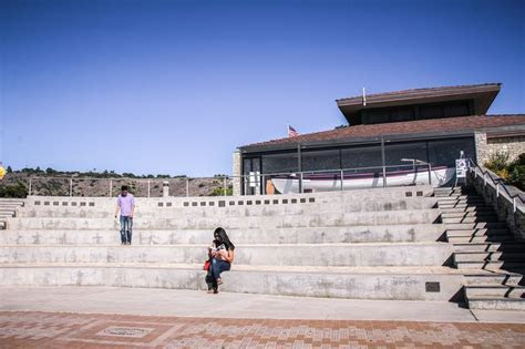 Point Vicente Interpretive Center   Amphitheater   view