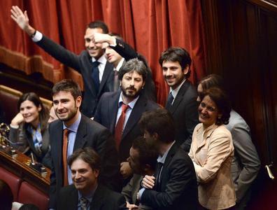 I deputati del M5S in Parlamento