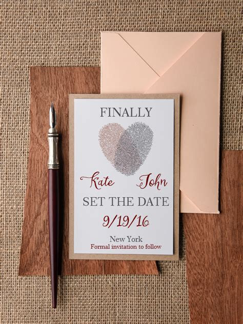 12 Gorge Save the Date Cards from Irish Suppliers