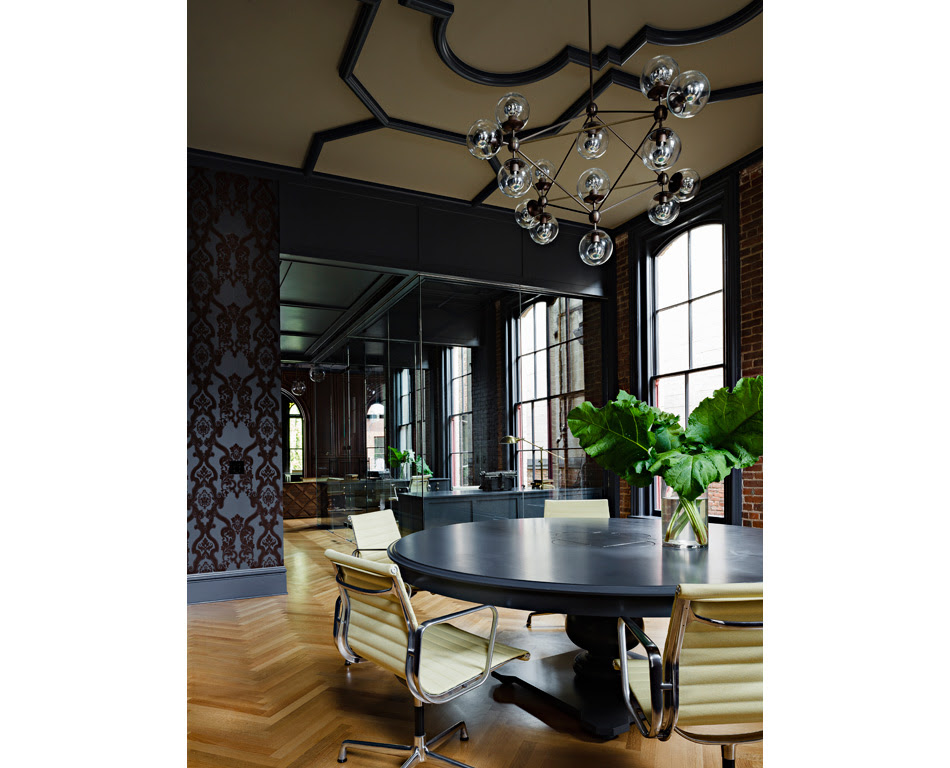 Jessica Helgerson Interior Design Gothic Office 10
