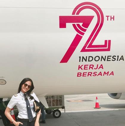 Jika bung doyan berselancar di jejaring sosial Instagram Pesona Mellisa Anggiarti, Si Pilot Cantik yang Senyumnya Bisa Buat Bung Merasa Terbang