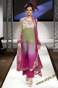 Latest Party Wears Dresses By Rizwana At PFW UK 2011 3 style.pk