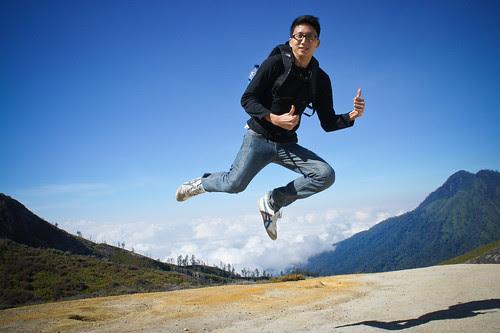 me, the levitating man