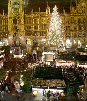 Christmas market at Munich