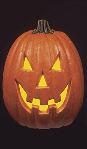 WOWindow Posters Happy Jack Pumpkin Halloween Jack O'lantern Window Decoration includes one 34.5