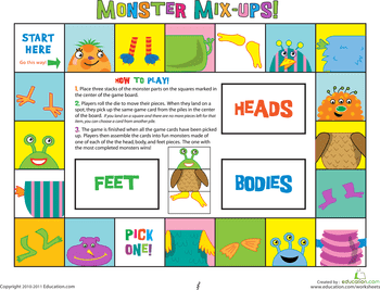 14 Great Printable Preschool Counting Games   Education.com