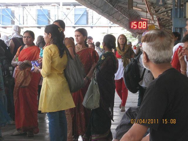 Ready to board 1506 Lonavala Local at ShivajiNagar Railway Station for Dajikaka Gadgil Developers' Anant Srishti at Kanhe, near Talegaon, Pune